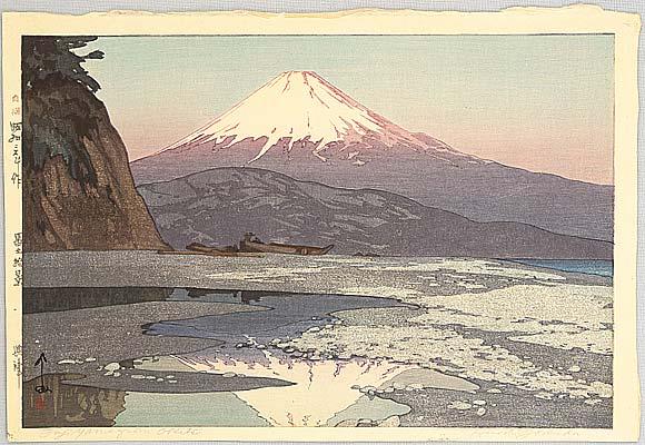 Mt. Fuji from Okitsu - By Hiroshi Yoshida