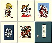 Yoshitoshi Mori 1898-1992 - Kabuki Heroes and Heroines