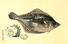 Bakufu Ono 1888-1976 - Flounder