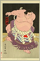 Daimon Kinoshita born 1946 - Grand Champion Kitanoumi - Sumo