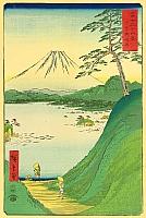 Misaka Pass - Ando Hiroshige - 1797-1858