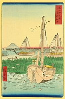 Thirty-six Views of Mt.Fuji - Tsukuda Island