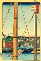 Teppozu - Ando Hiroshige - 1797-1858