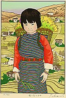 Ryusei Okamoto born 1949 - Spirit of The Green Valley, Bhutan  - Children of Asia