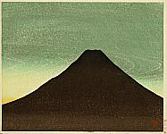 Masao Maeda 1904-1974 - Mt Fuji in the Morning