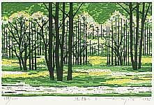 Fumio Fujita born 1933 - Shining Green (D)