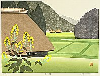 Home in the Spring - By Tasuo Kawashima