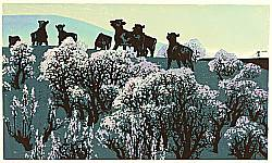 Jie Rentai born 1947 - Message of Spring