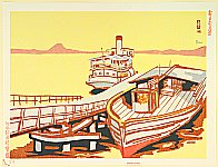 Benji Asada 1899-1984 - Lake Biwa - New One Hundred Views of Japan