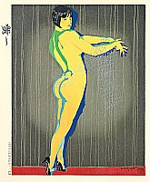 Toraji Ishikawa 1875-1964 - Dance - Ten Types of Female Nudes