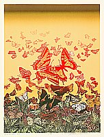 Chizuko Yoshida born 1924 - Butterflies at Midday