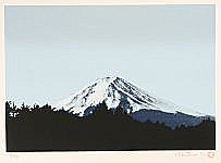 David Prentice born 1943 - Mount Fuji in Winter
