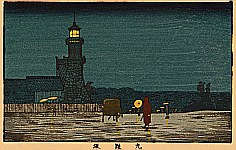 Yasuji Inoue 1864 - 1889 - Light at Kudanzaka