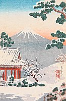 Koitsu Tsuchiya 1870-1949 - Nagao Pass