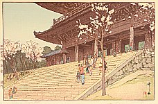 Hiroshi Yoshida 1876-1950 - Chion-in Temple Gate
