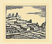Unichi Hiratsuka 1895-1997 - Ize Landscape