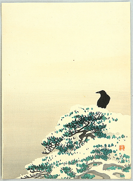 Shunkyo Yamamoto 1871-1933 - The Crow
