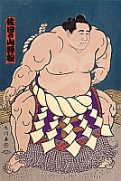 Daimon Kinoshita born 1946 - Champion Sumo Wrestler, Sadanoyama