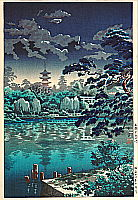 Koitsu Tsuchiya 1870-1949 - Shinobazu Pond