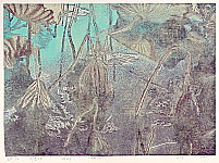 Qian Dongxia born 1983 - Lotus Pond in Morning Fog