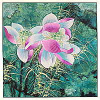 He Zhongcang born 1967 - Lotus No. 1