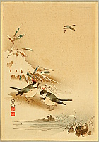 Sozan Ito 1884-? - Birds in Snow