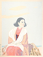 Gakuryo Nakamura 1890-1969 - Soft Breeze in the Spring