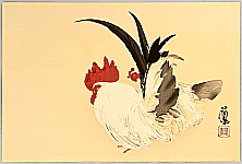 Seiho Takeuchi 1864-1942 - Rooster and Hen