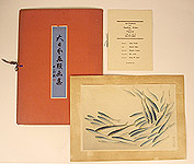 Bakufu Ono 1888-1976 - Sardine or Pilchard - Pictures of Fish in Japan Vol.3