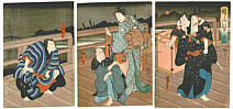 Hirosada Utagawa active ca. 1820-1860 - Sumo Brothers
