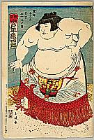 Gyokuha (Tamanami)  fl.ca. 1900-1920 - Sumo Kid