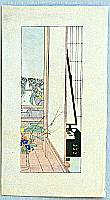 Settai Komura 1887-1940 - Veranda with View