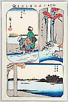 Hiroshige Ando 1797-1858 - 5 - A Collection of Pictures of Famous Places in Edo