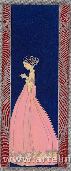 Unknown - Art Nouveau Envelope