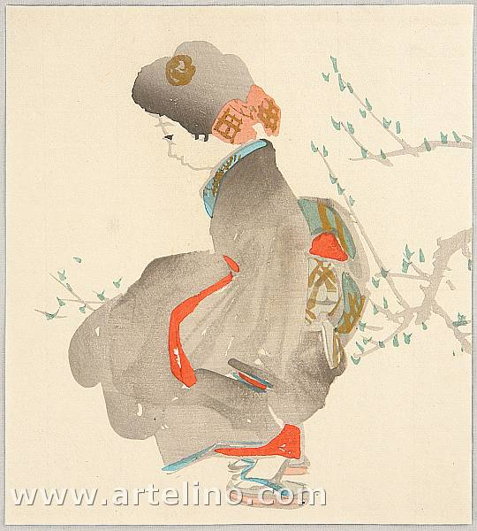 Saburo Ota 1884-1969 - Resting