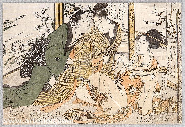 Shunga by Utamaro Kitagawa 1750-1806