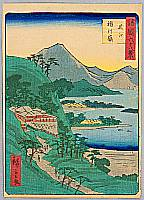Hiroshige II Utagawa 1829-1869 - Sixty-eight Famous Views of Provinces - Ohmi