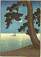 Pine Beach - By Yoshimune Arai