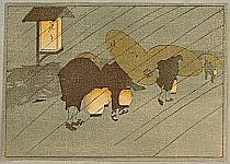 Bertha Lum 1869-1954 - Against the Wind and Rain