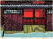 Clifton Karhu 1927-2007 - Hanamikoji Snow