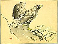 Hanko Kajita 1870-1917 - Eagle