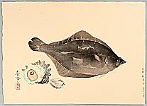 Bakufu Ono 1888-1976 - Flounder and Sea Shells