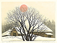 Koichi Sakamoto born 1932 - Winter Sun No.2