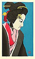 By Masao Ido, born 1945 - Bunraku Puppet - Musume