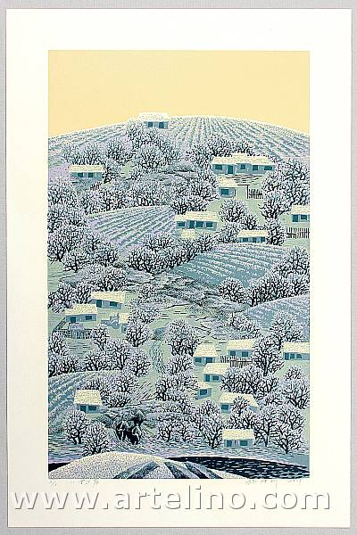 Zhang Zexin born 1961 - After a Light Snow