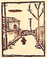 Sakuichi Fukazawa 1896-1947 - Hanga Vol.5 - Winter Day