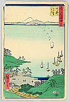 Hiroshige Ando 1797-1858 - Arai - Upright Tokaido