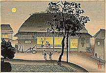 Bakufu Ono 1888-1976 - Autumn Moon
