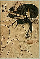 Eisui Ichirakusai active ca. 1790-1823 - Beauty Mutsu