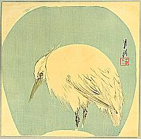 Gekko Ogata 1859-1920 - Egret